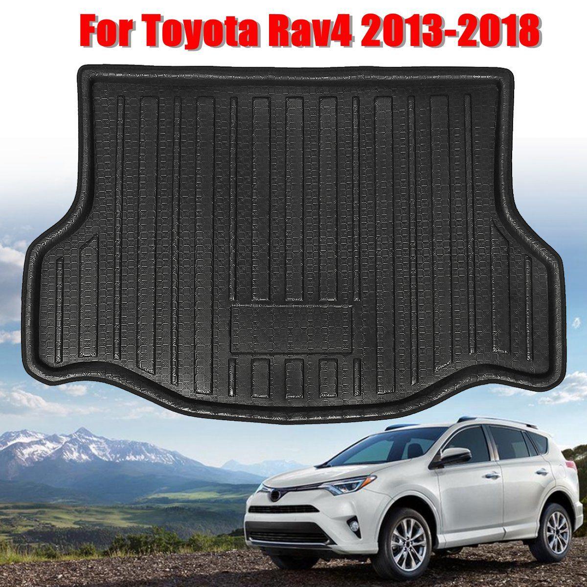 High Quality Rear Trunk Cargo Mat Floor Tray Boot Liner Waterproof for Toyota RAV4 2013 2014 2015 2016 2017 2018