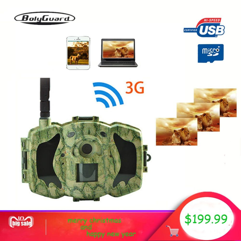 Bolyguard 30MP 1080P HD Hunting Trail game Camera 3G Wireless 100ft SMS MMS GPRS Waterproof Photo Trap thermal imager Camera