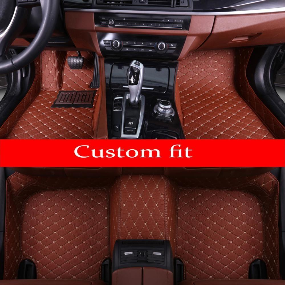 Car foot case car floor mats for BMW 3 series E90 E91 E92 E93 318d 320d 320i 325i 328i 325D 330d 335D 330i 335i rugs liners