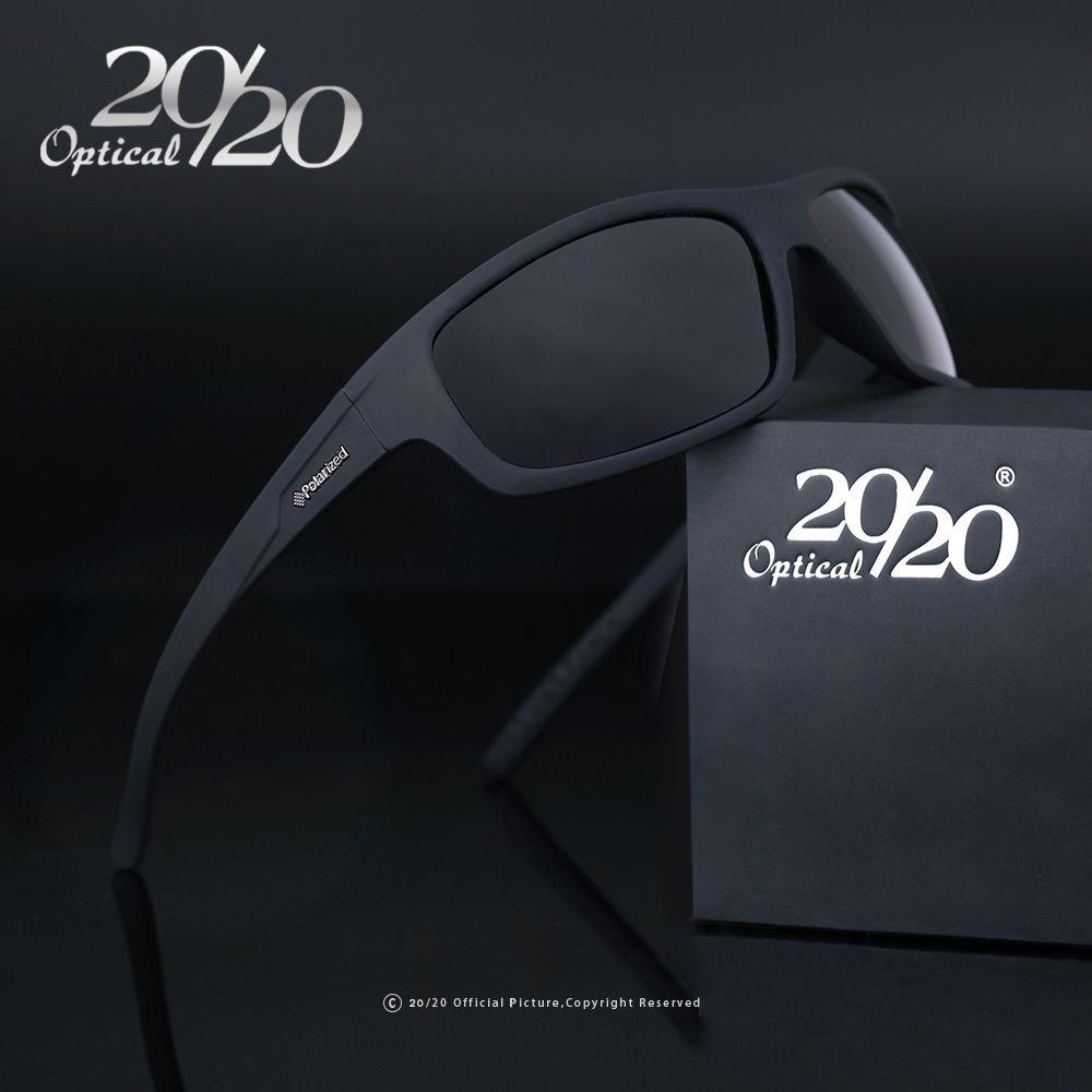 20/20 Optique Marque 2018 Nouvelles lunettes de Soleil Polarisées Hommes Mode Mâle Lunettes Soleil Lunettes Voyage Oculos Gafas De Sol PL66
