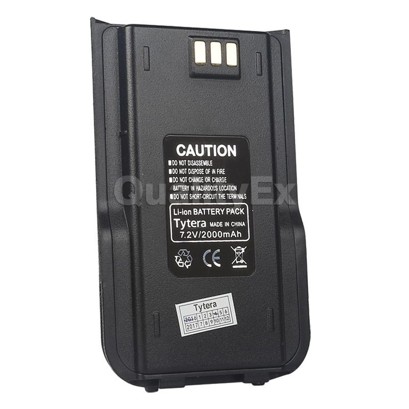 TYT MD-380 Li-ion Battery Pack 7.2V 2000mAh for Tytera MD380 Two Way Ham Radio Walkie Talkie