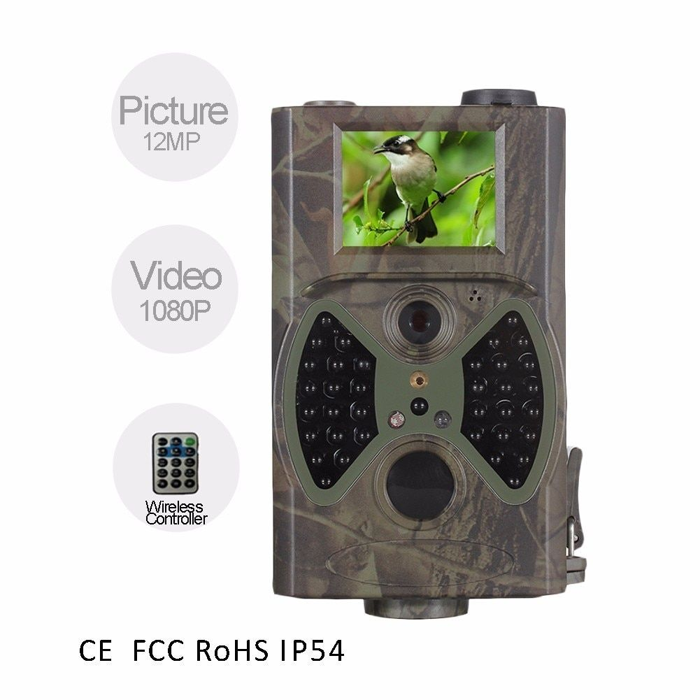 HC-300A Hunting Camera Scouting HC300A 12MP HD 1080P VGA Digital Infrared 940NM Trail Wildlife 2.0 inch LCD Trail Camera