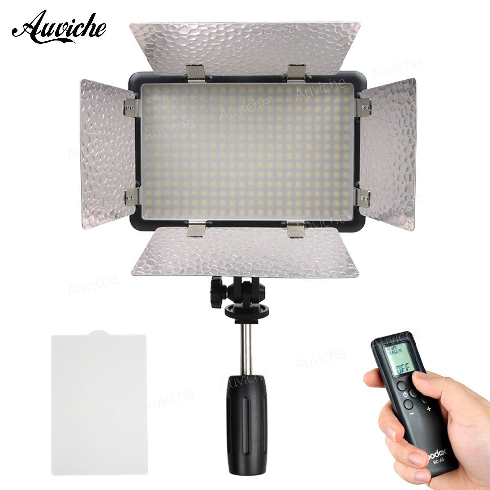 Godox LED308IIC 3200-5600K LED Video LED light Fill Light for DSLR Camera Camcorder for Wedding News Interview Macro photography