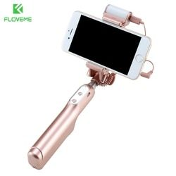 FLOVEME Fashion Selfie Stick For iPhone 7 7 plus 6 6s Plus 5 5s Monopod Selfie Sticks for Samsung S8 S7 S6 edge for Huawei Mate9