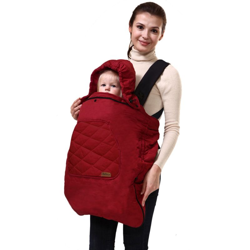Bebamour Spring Baby Backpack <font><b>Carrier</b></font> Cover Autumn Cloak Warm Cover <font><b>Carrier</b></font> Cover Baby Polar Cover For Baby