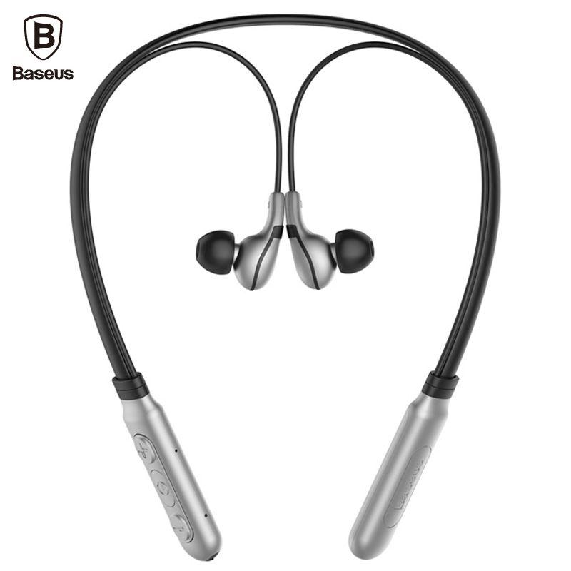 Baseus E16 Neckband Bluetooth Earphone with Mic V 4.1 Wireless Headphone Sport Running Stereo Auriculares Bluetooth Headset