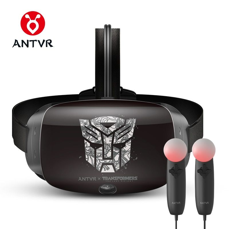 ANTVR 2017 New Virtual Reality Headset Immersive 3D VR Glasses Virtual pc Glasses Binocular 110 FOV 2160*1200 VR box Transformer