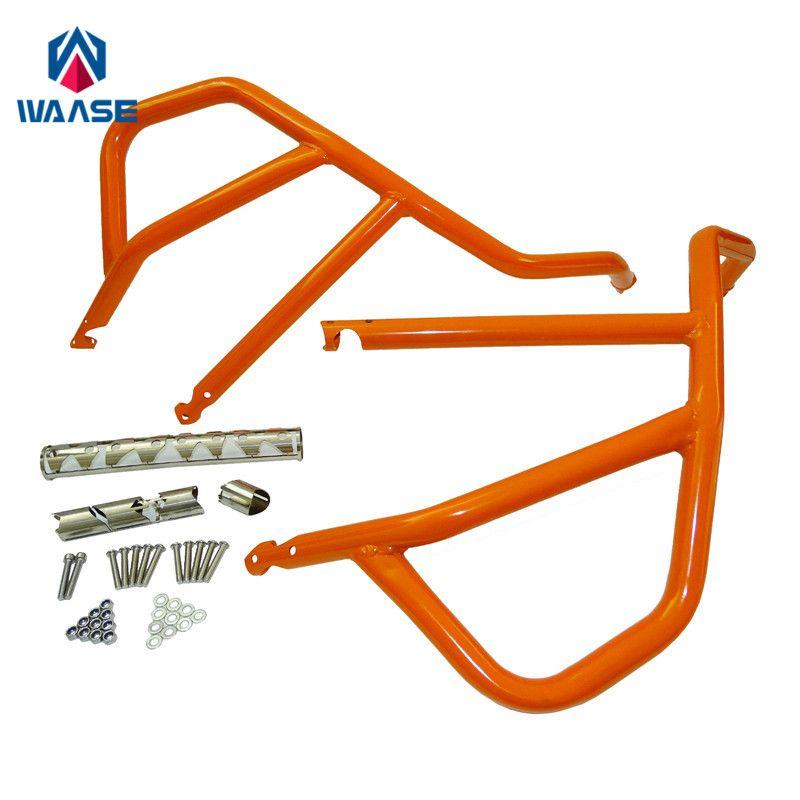 waase 1050 1190 ADV Motorcycle Engine Bumper Upper Guard Crash Bars Protector Steel For KTM 1050 Adventure / 1190 Adventure / R