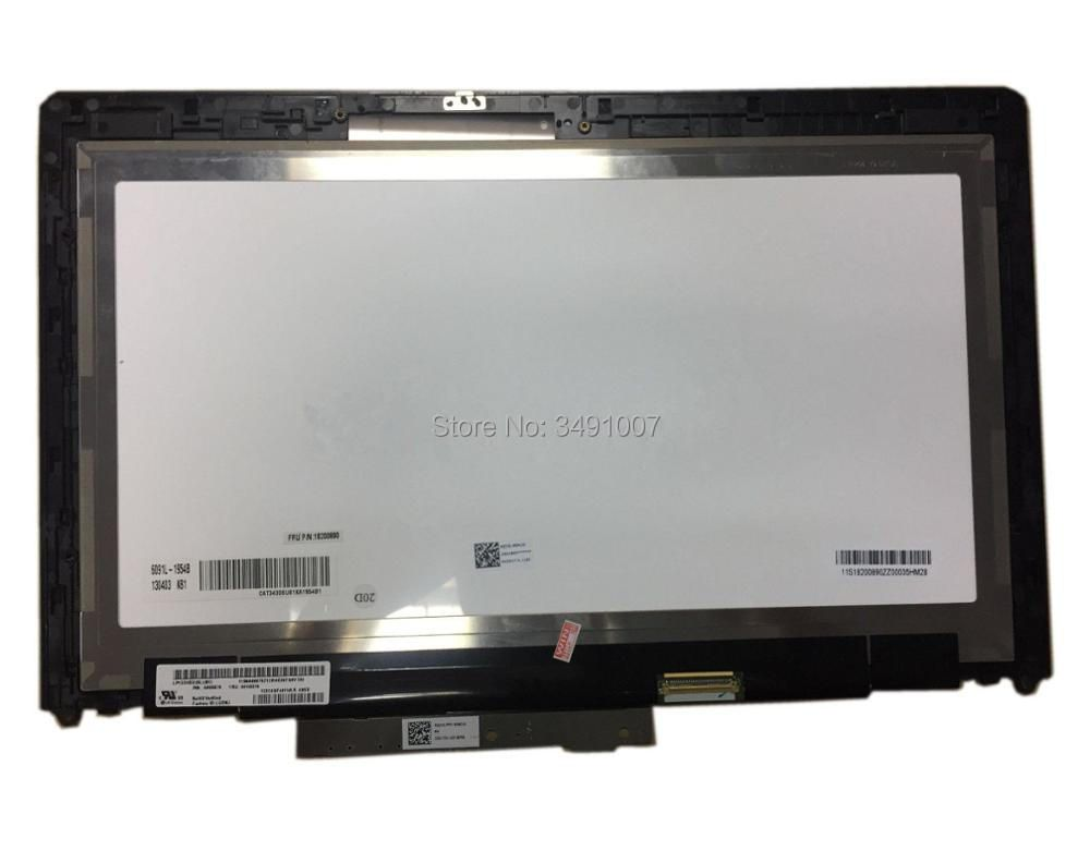 Touch LCD Screen Digitizer Assembly LP133WD2 SLB1 For Lenovo IdeaPad Yoga 13 1st