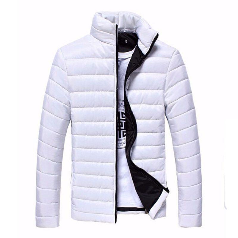 2017 herbst Winter Sportswear Herren Sport Jacken Und Mäntel Dünne Oberbekleidung Solide Zipper Cotton Mantel Männer Jacken
