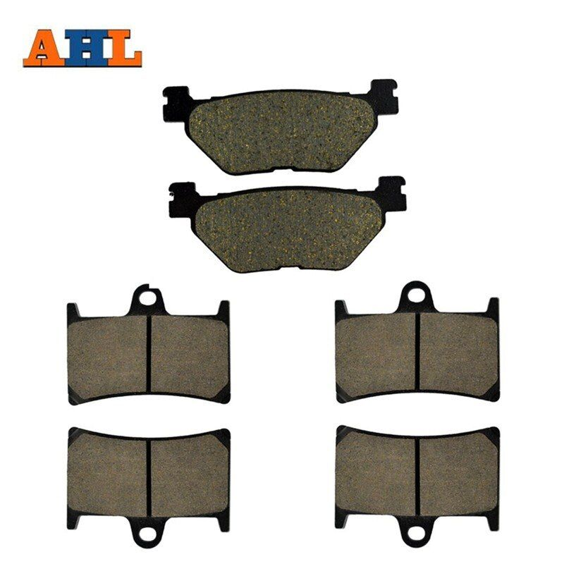 AHL Motorcycle Front and Rear Brake Pads For YAMAHA XV 1700 XV1700 Road Star Midnight Warrior (PC models) 2002-2009 Disc Pad