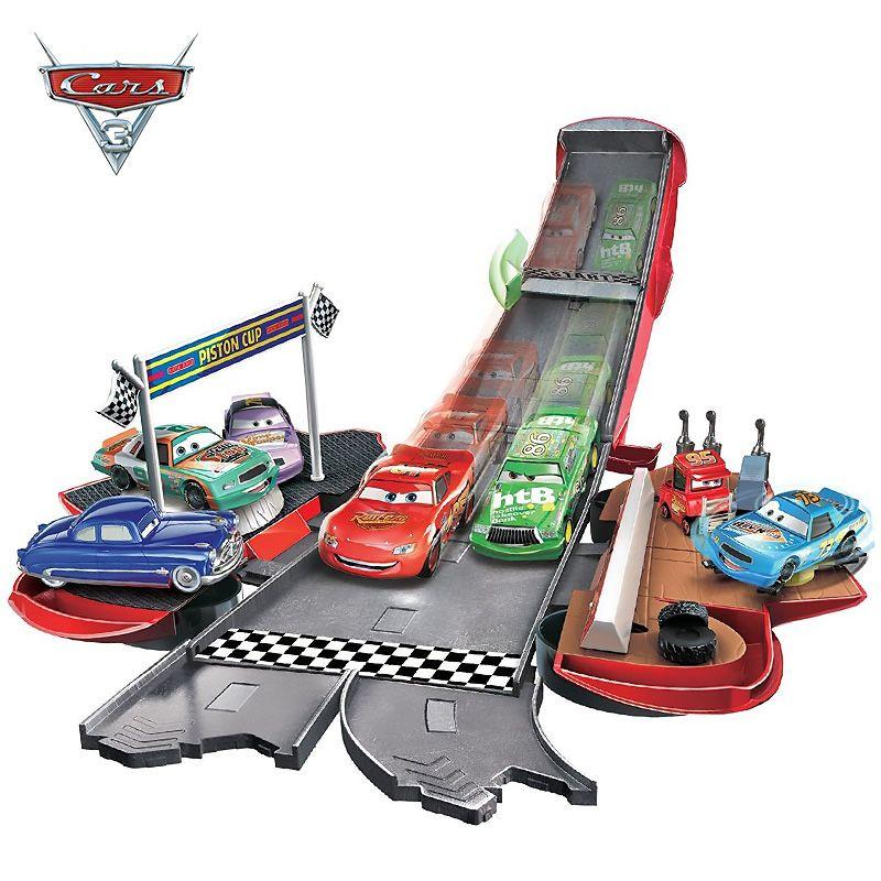 Disney Pixar Autos 3 Blitz McQueen Mater Jackson Storm Verformt Track Diecast Metall Modle FiguresKids Spielzeug Junge Pädagogisches