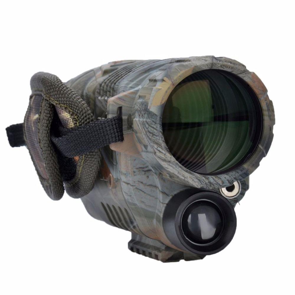 Охотничья оптика Приборы ночного видения для охоты 5x42 увеличение Камуфляж высокой четкости Ночное видение телескопа инструмент