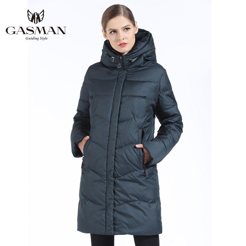 GASMAN 2019 Frauen Winter Jacke Unten Lange Weibliche Winter Dicken Mantel Für Frauen Mit Kapuze Unten Parka Warme Kleidung Plus Größe 7XL 6XL