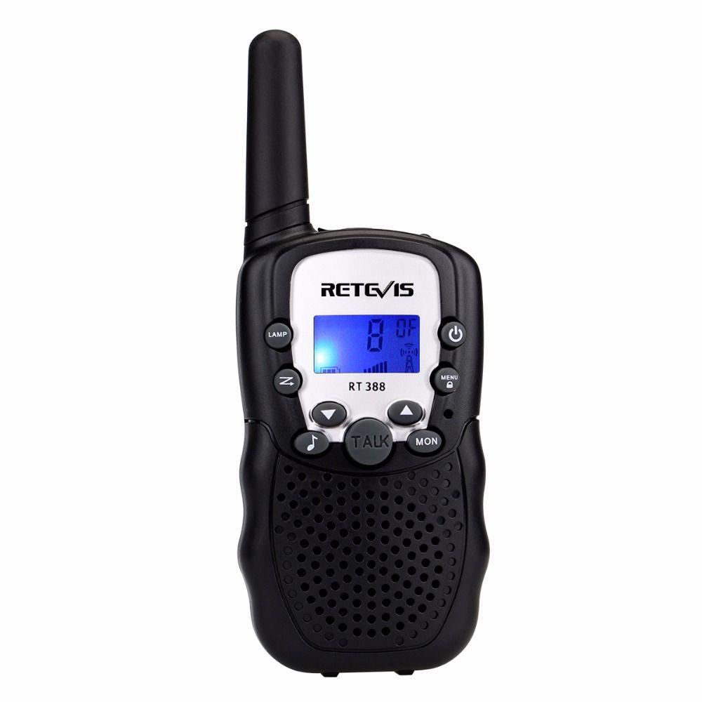 1pcs Mini Walkie Talkie Kids Radio Retevis RT388 0.5W UHF 462-467MHz US Frequency Portable Two Way Radio J7027