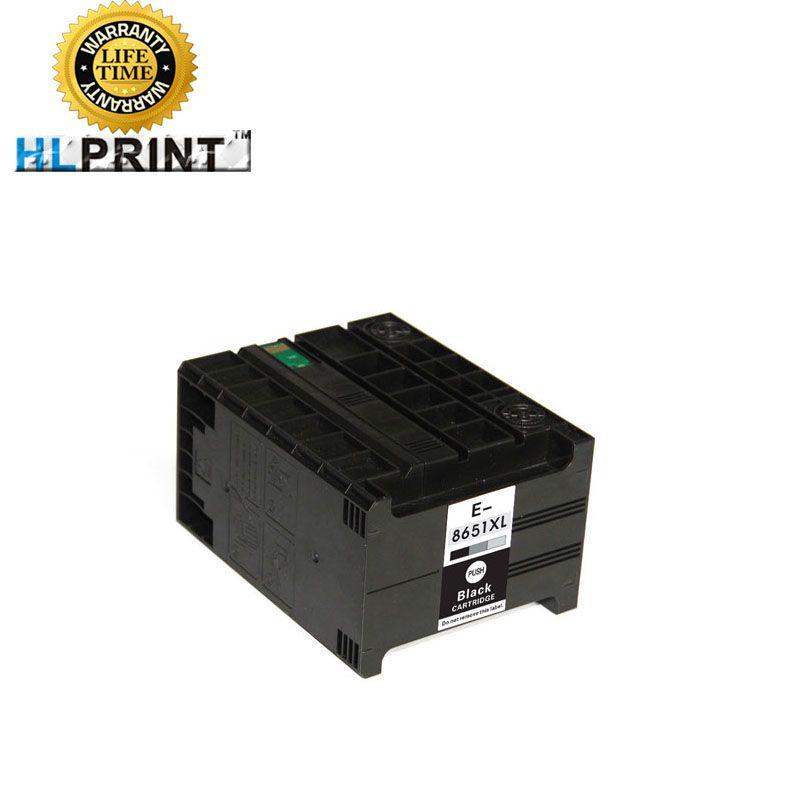 T8651 8651XL cartouche d'encre compatible pour EPSON labour Pro WF M5191 M5190 M5690 imprimante encre pigmentée