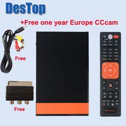 GTMedia V8 Nova DVB-S2 Freesat satélite H.265 WIFI incorporado + 1 año Europa CCcam TV Box