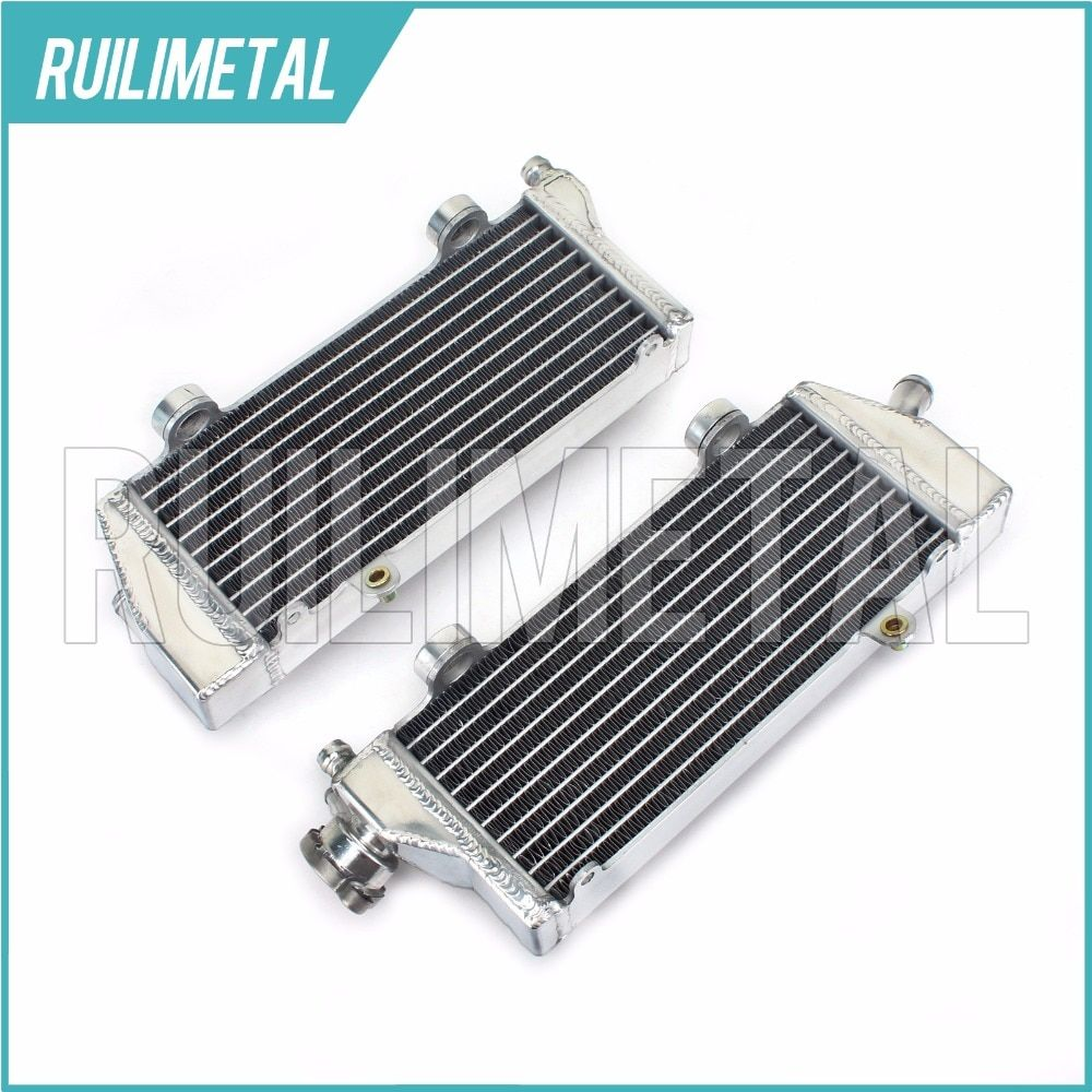 Left Right NEW Aluminium Core MX Offroad motocross cooling Radiators for KTM XC 150 200 250 300 EXC 200 250 350 / SIX DAYS 08-16