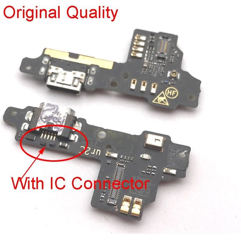 Original Tested For ZTE Blade V8 Dock Connector Micro USB Charging Port Microphone Board Flex Cable For ZTE Blade V8