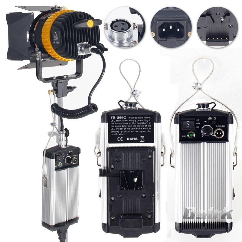 Portable High CRI 80W LED Spotlight for Camera Video Continuous Light Bi-color 3200K/5600K Dimmable Spot Light for Fotografia