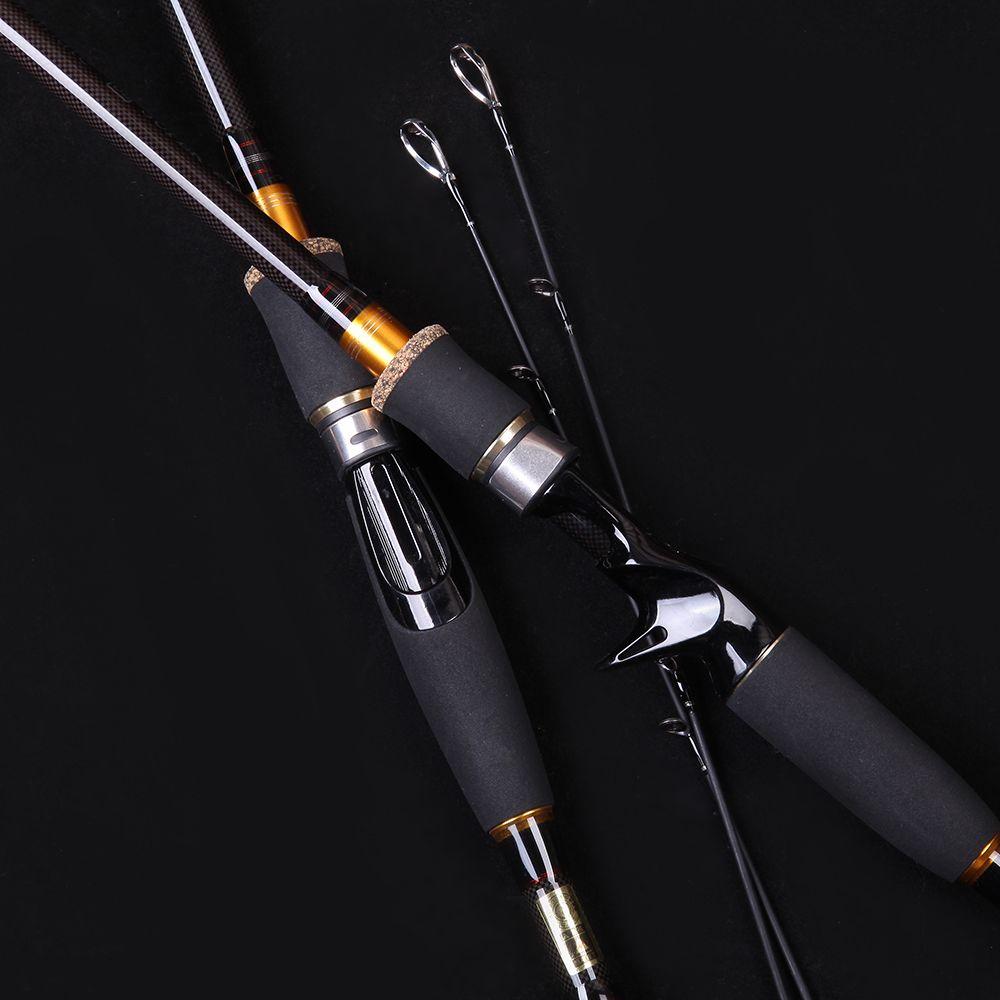WALK FISH 1.8 2.1 2.4 2.7 3.0m Lure Rod Carbon Spinning Fishing Rod Travel Rod Casting Fishing Pole Vava De Pesca Saltwater Rod