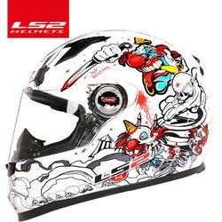 100% original LS2 FF358 moto rcycle Casco LS2 Casco hombre mujer racing moto Cascos Casco moto ECE certificación