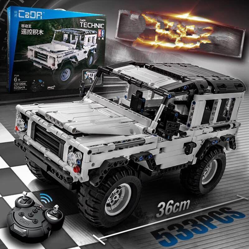 Technique Série 553 pcs Defender RC Modèle De Voiture SUV DIY Building Block Briques Voiture Jouets Pour Enfants Compatible avec Legoed