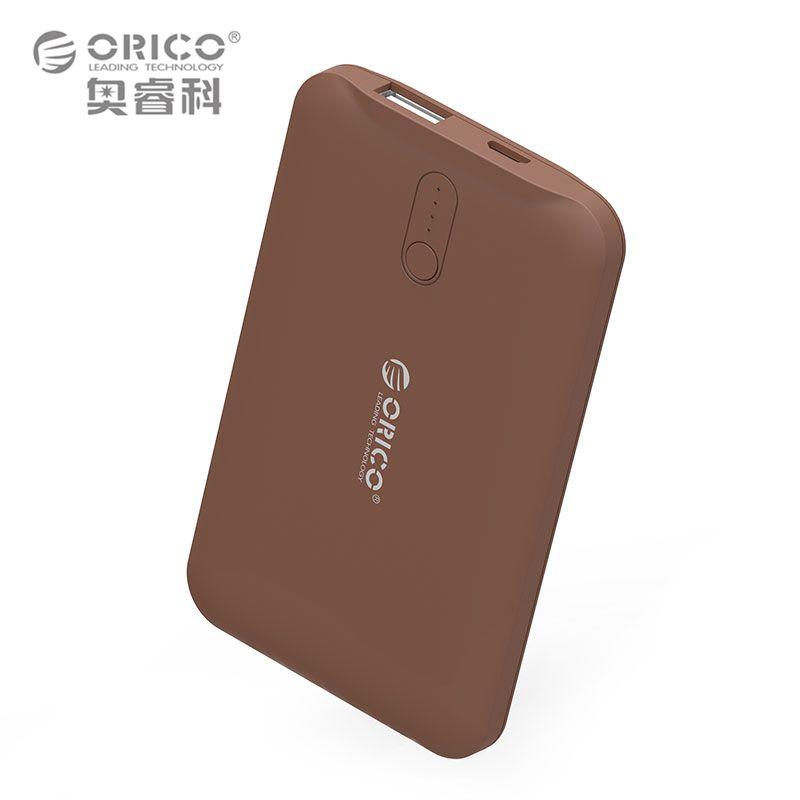 ORICO 2500 mAh Energienbank Portable Handy-ladegerät Power für Smartphones Externes Braun/Weiß/Rosa