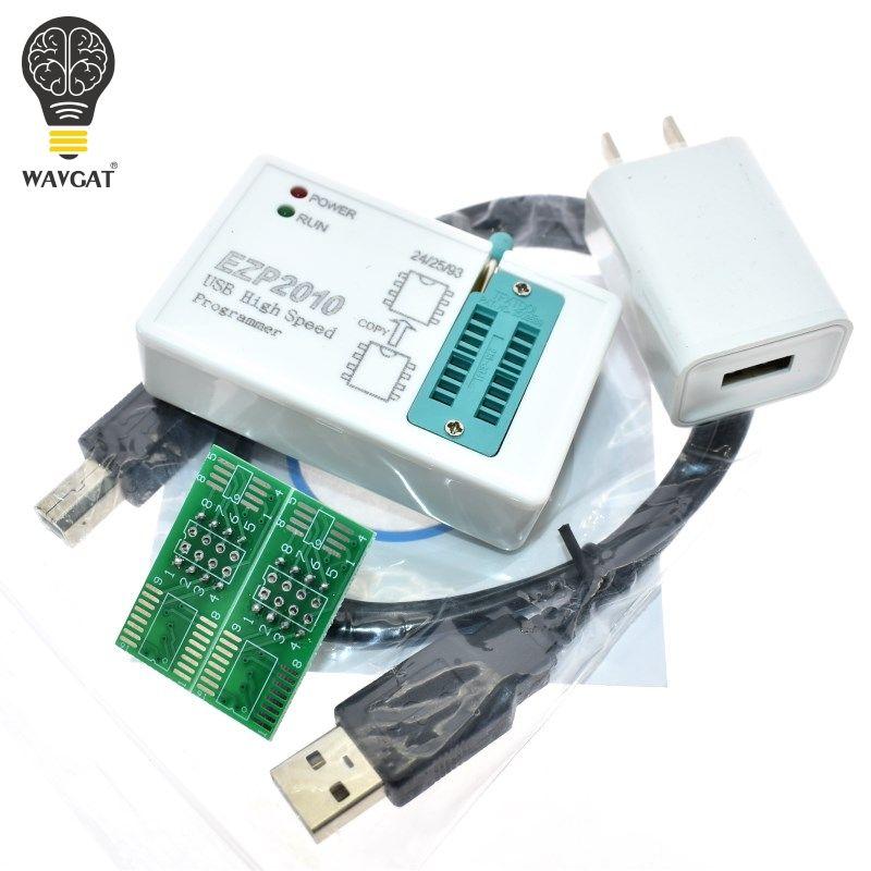 WAVGAT EZP2010 high-speed USB SPI Programm + IC Test Clips socke Unterstützung 24 25 93 EEPROM 25 Flash BIOS Chip