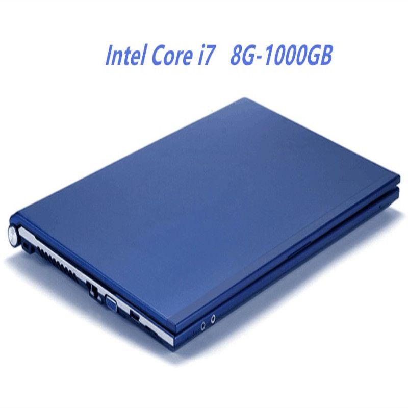 8GB RAM + 1000GB HDD Laptop Intel Core i7 CPU 15,6 HD 1920X1080P Win 7/10 Notebook PC Gaming Computer mit DVD-RW 4000mAh Batterie