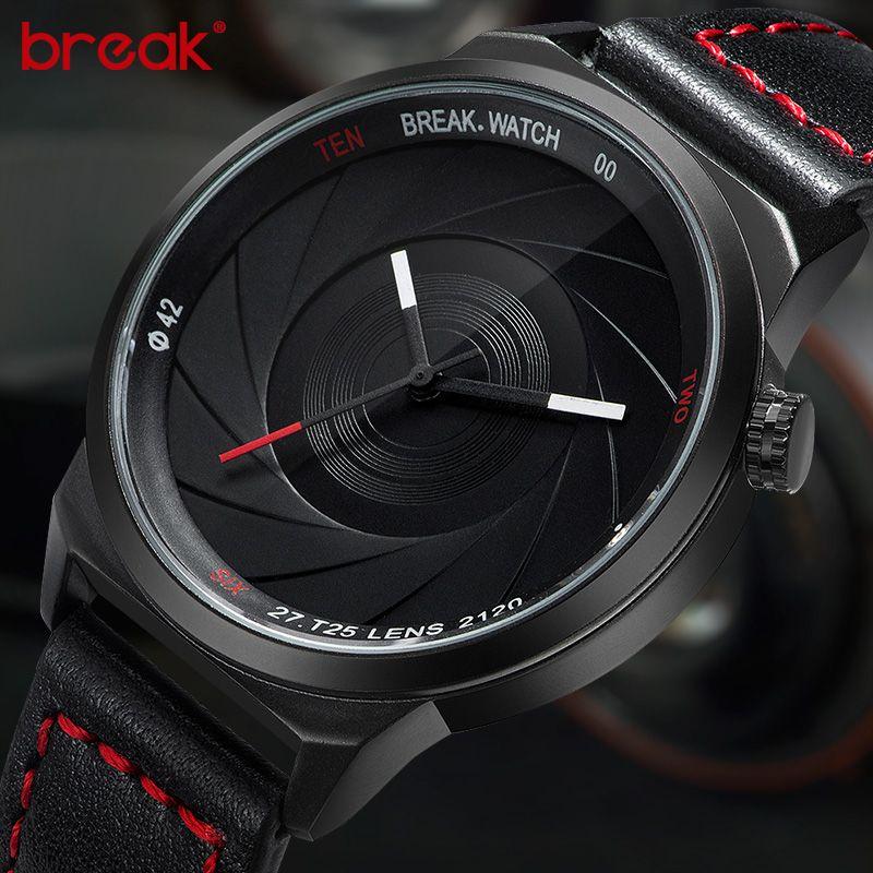 Break Brand New Original Design Photographer Series Unique Men Women Unisex Sport Simple Quartz Creative Fashion Casual Watches