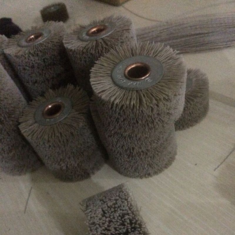 2 pieces Abrasive Wire Grinding Flower Head Polishing Brush Grinding Tool Accessories Free Shipping