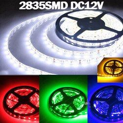1 m 2 m 3 m 4 m 5 m 0.5 m 2835 SMD Led Bande lumière DC12V 60 Leds/M Fiexble Led Ruban Bande LED Aquarium décoration