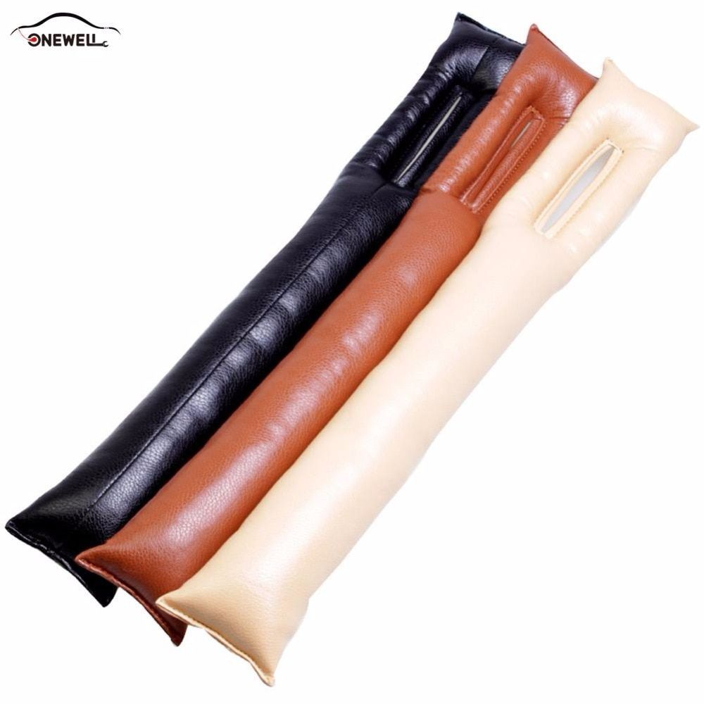 ONEWELL 48x8cm PU Universal Pure Close Seat Gaps Plug Crevice Inserts Protective Padding Interior Fashion Accessories