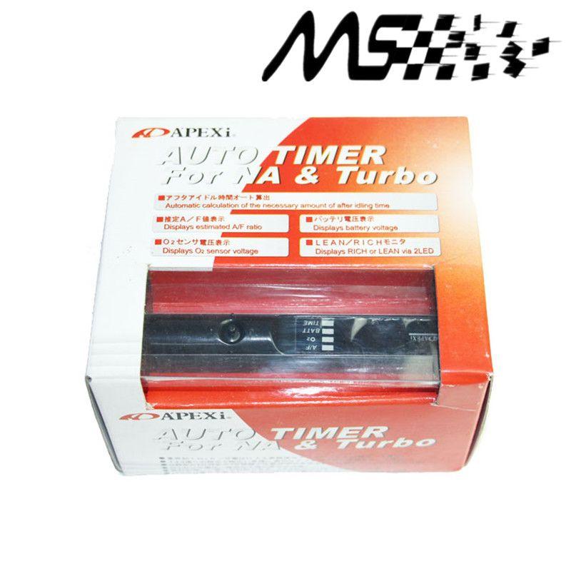 APEXI Turbo Minuterie Pour Universal Car Auto avec boîte D'origine et logo (rouge/bleu/blanc LED lumière)