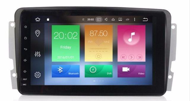 OTOJETA android 8.0 car multimedia player for Mercedes Benz W209 W203 W168 M ML W163 W463 Viano W639 Vito Vaneo radio stereo GPS
