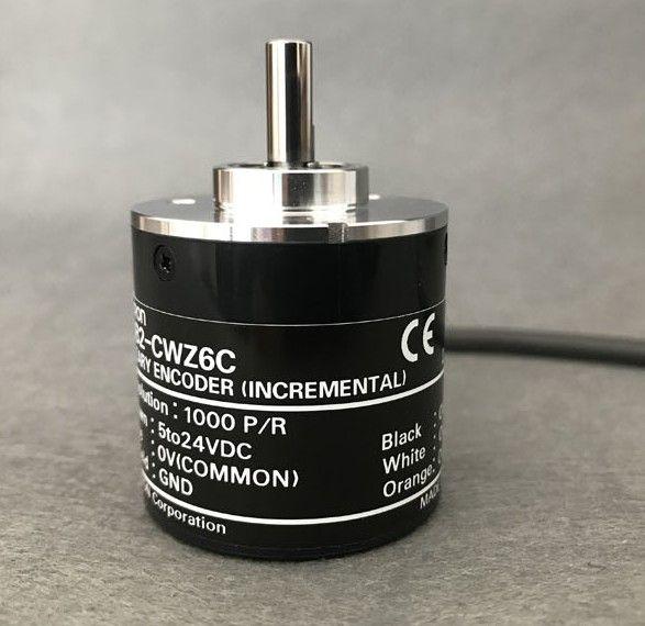 Original E6B2-CWZ6C OMRON Rotary Photoelectric Encoder 5-24V 2000PPR 1800 1024 1000 600 500 400 360 200 100 60 40 30 20PPR