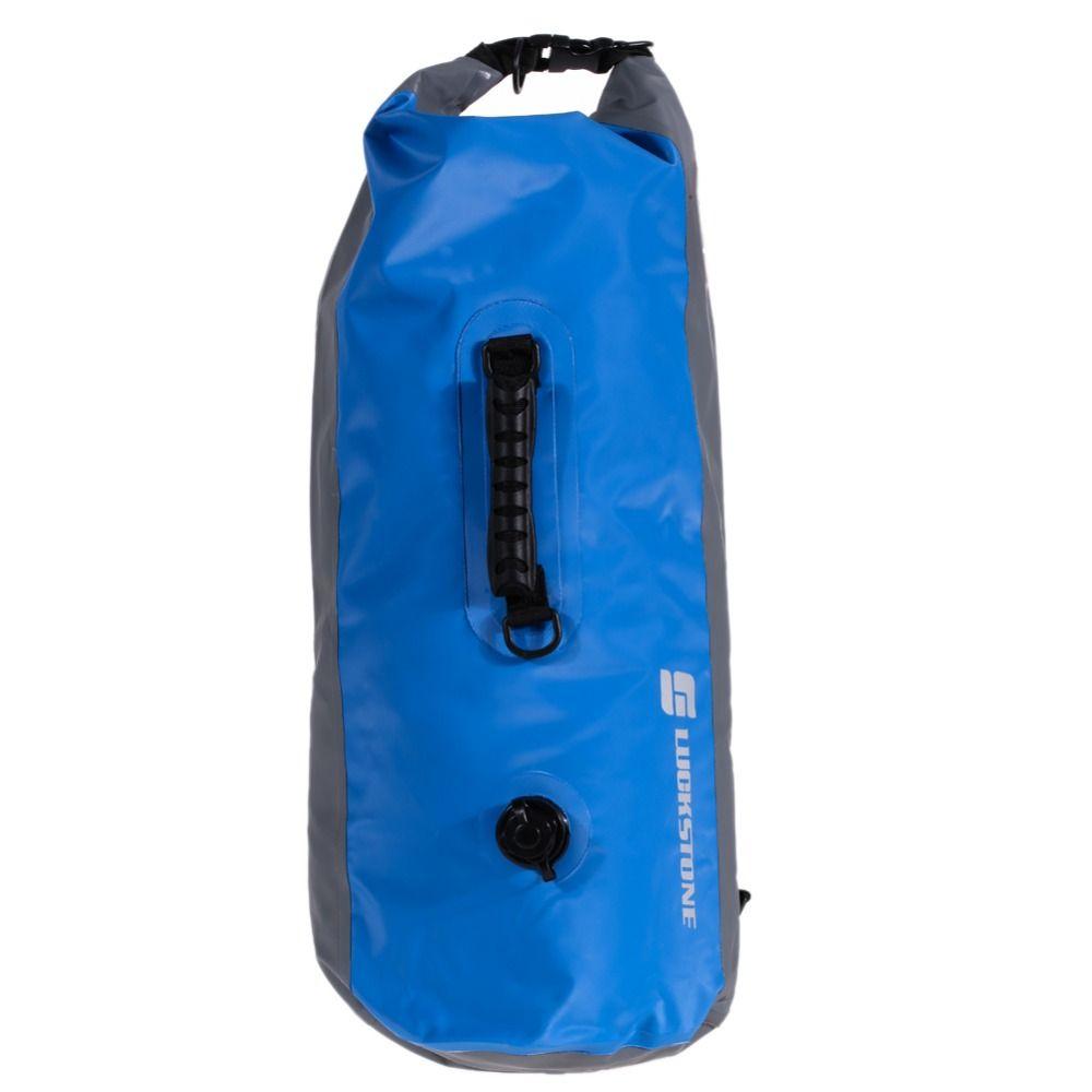 Waterproof Dry Bag Backpack Ultralig Floating Drift Kayaking Canoeing Kayak Camping Fishing Trekking Rafting Bags Travel Kit 60L