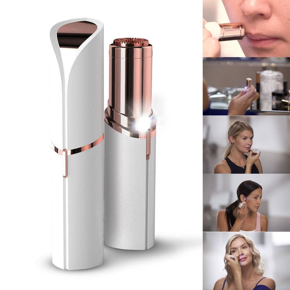 Mini Body Face Neck Leg Hand Hair Remover Electric Body Facial Hair Remover Flawless Face Depilator Defeatherer Fashion Removal