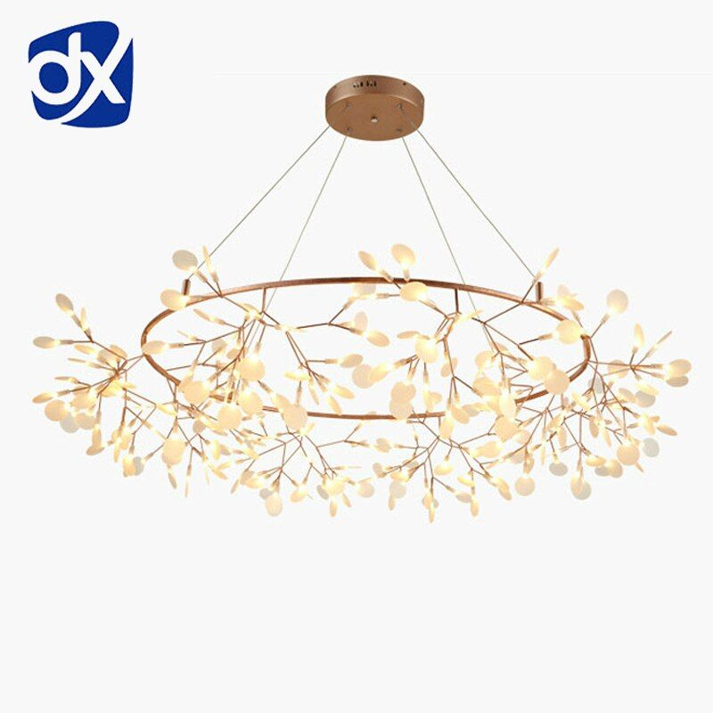 Creative Art Designer Chandelier Lights Tree Leaf Vintage D80cm LED Lamps Fixtures By Bertjan Pot Suspension Lamp Home Lighting