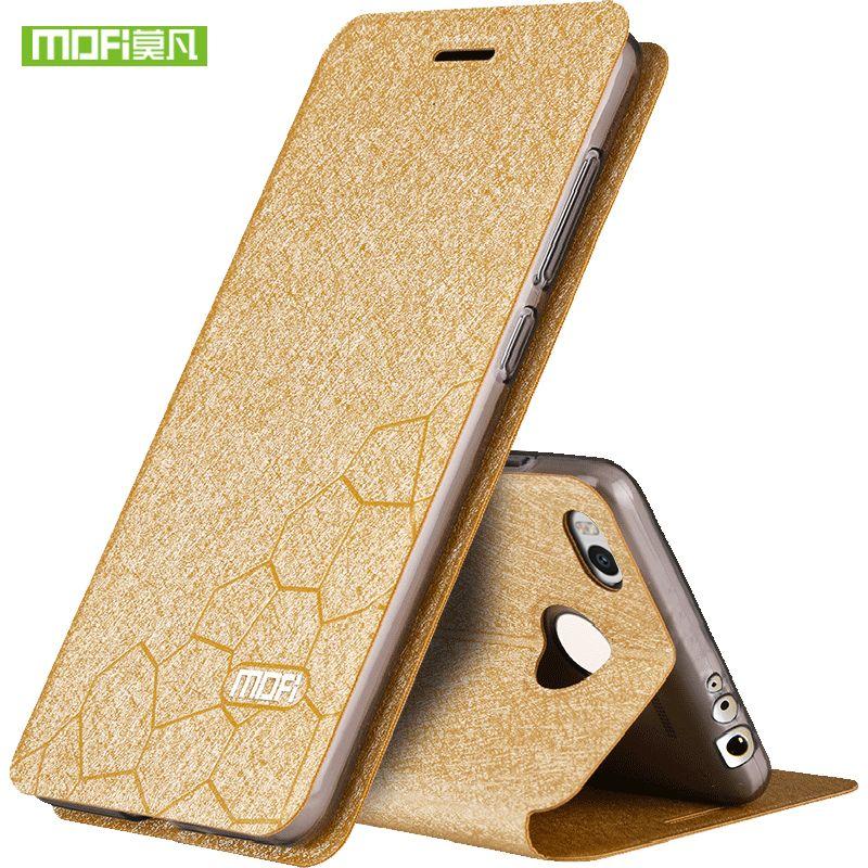 Pour Xiao mi mi Max 2 cas max2 couverture en cuir flip silicone armure de luxe d'origine mofi pour Xiao mi mi max2 cas coque foundas cas