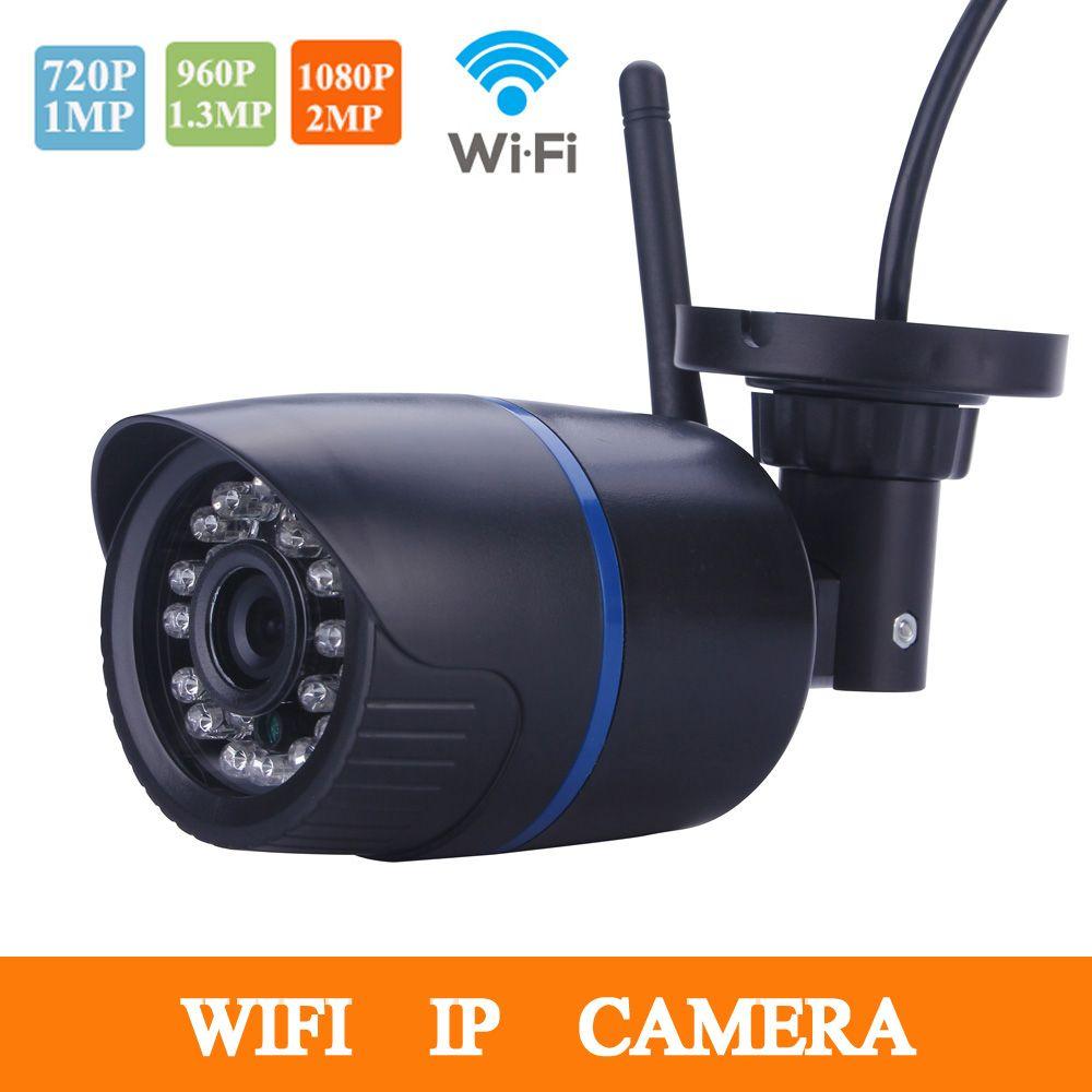 Hamrolte IP Caméra Wireless Wifi Caméra 720 P/960 P Bullet Caméra H.264 + Détection de Mouvement XMEYE IE Nuage Mobile Phone Remote View
