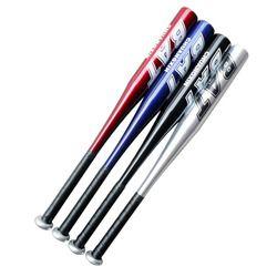 High Strenght тренировочный софтбол Бейсбол Летучая мышь палка алюминиевый в виде бейсбольной биты жесткий мяч 20 дюймов черный серебристый синий...