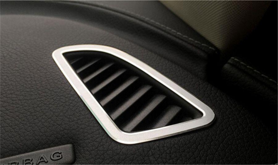 2 шт. приборной панели кондиционер вентиляционное отверстие розетки Верхняя накладка для Mercedes C Class Benz w205 14-15 C180 c200 c250 C300 C400 C63