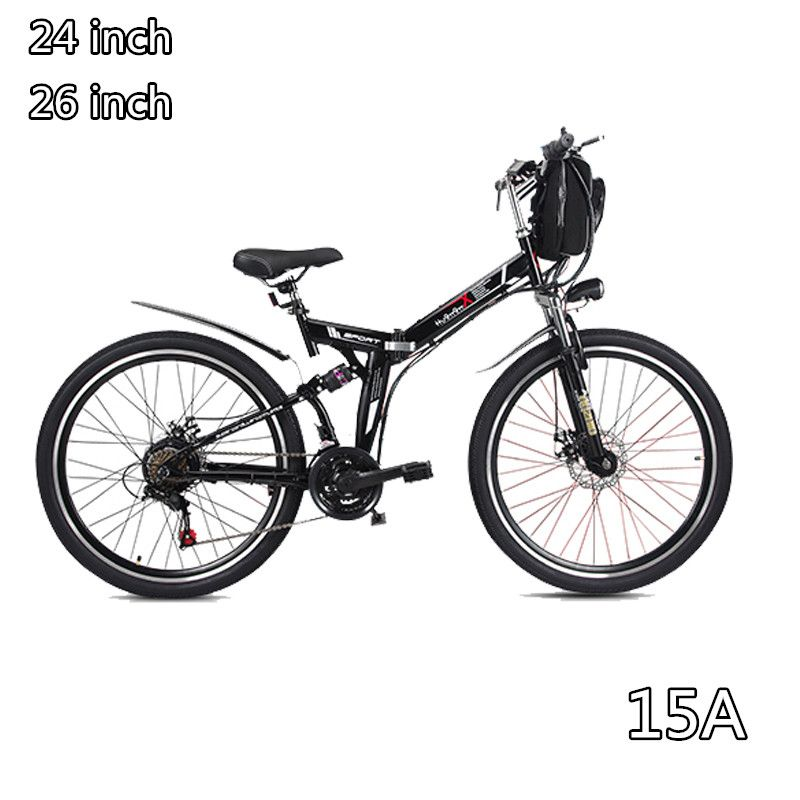 48V folding electric bicycle Mountain E-bike