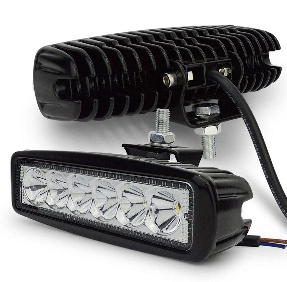 2pcs 18w DRL LED Work Light Worklight 10-30V 4WD,Free Shipping12 volt led work lights for Off Road work light led car