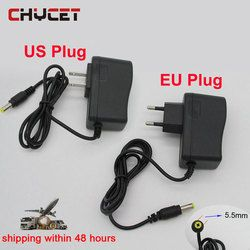 High Quality EU/US plug TV Box Power Adapter 5V 2A Universal Power Supply DC connector 5.5*2.1 for Android tv box Media Player