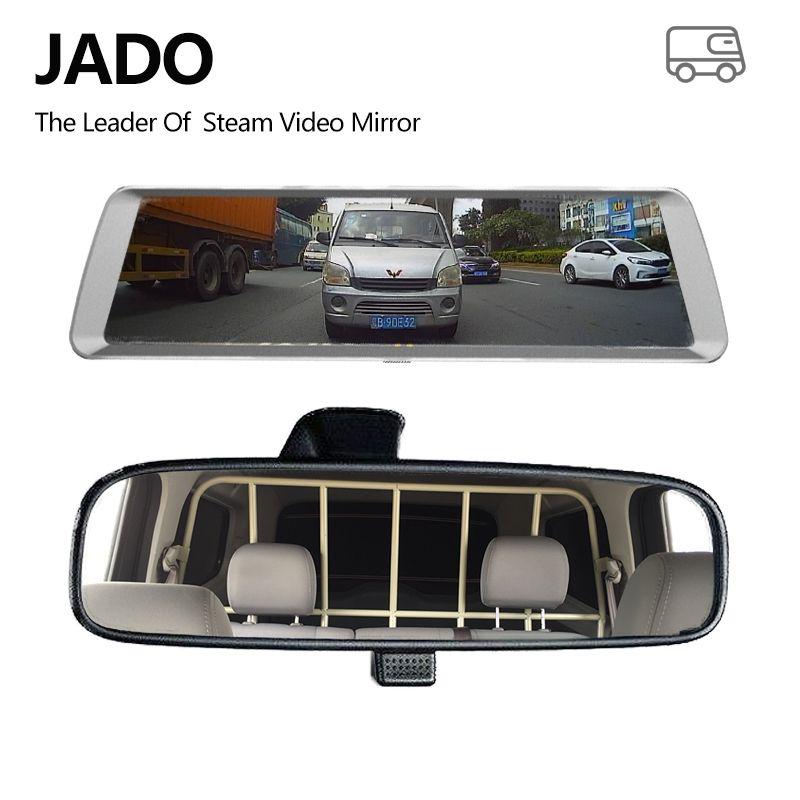 JADO D820 Car Dvr Stream <font><b>RearView</b></font> Mirror dash Camera avtoregistrator GPS 10 IPS Touch Screen Full HD 1080P Car Recorder dash cam
