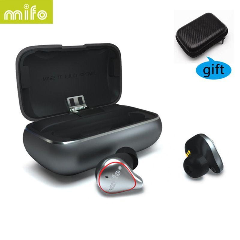 Mifo o5 pro TWS Bluetooth Drahtlose Ohrhörer Ausgewogene Bluetooth Kopfhörer Sport Hifi Stereo Sound Kopfhörer fone de ouvido ohrhörer