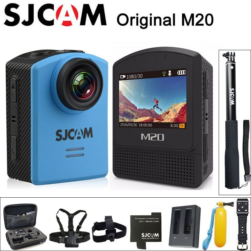 100% Original SJCAM M20 Sports Action Camera Underwater 4K Wifi Gyro Mini Camcorder 2160P HD 16MP Waterproof SJ Cam Sport DV